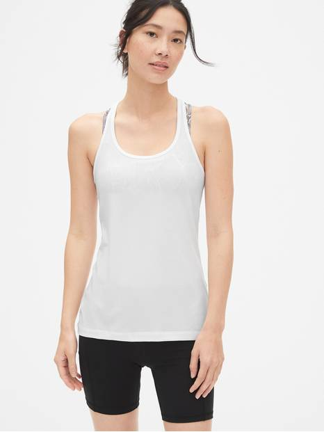 GapFit Breathe heathered tank