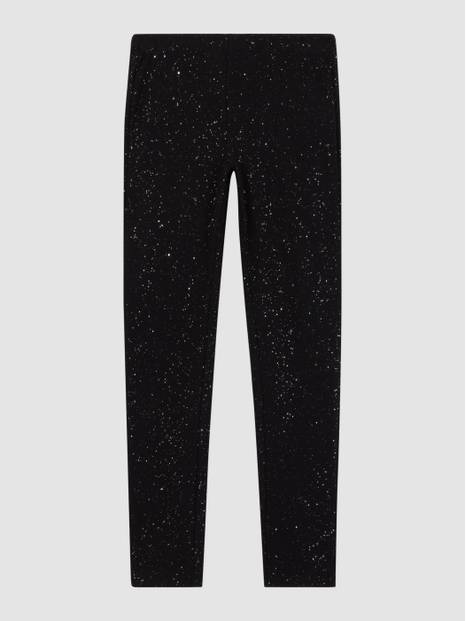 Kids Sparkle Leggings in Stretch Jersey