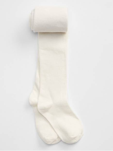 Kids Solid Cotton Tights
