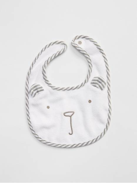 Baby First Favorite Bear Bib