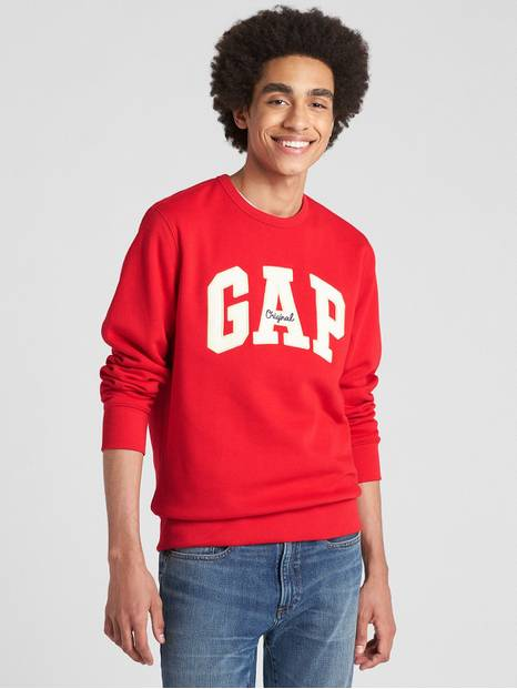 Gap Logo Fleece Crewneck Sweatshirt