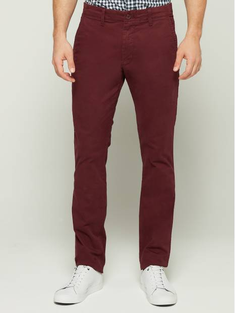 Lived-In Stretch Skinny Khaki Pants