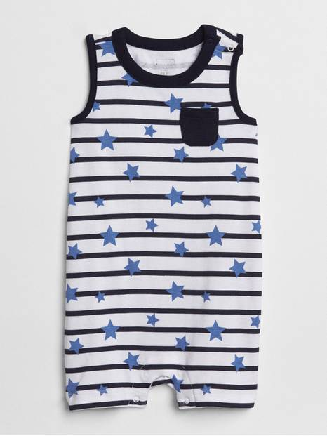 Baby First Favorite Star Shorty One-Piece