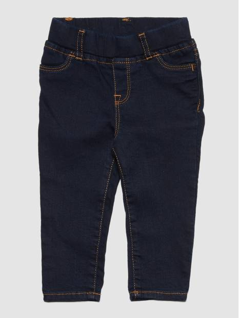 Elasticated Waist Denim Pants