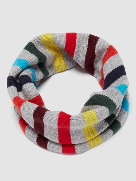 Crazy Stripe Cozy Neckwarmer