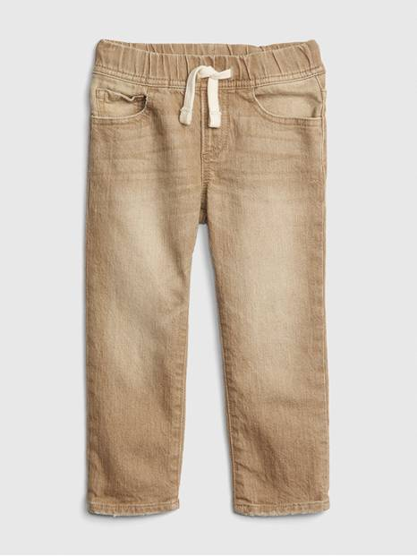 Toddler Pull-On Slim Jeans with Fantastiflex