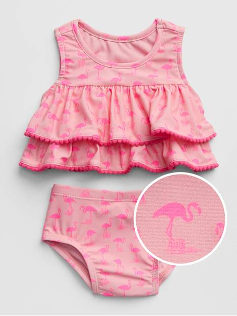 Baby Ruffle Swim Two-Piece