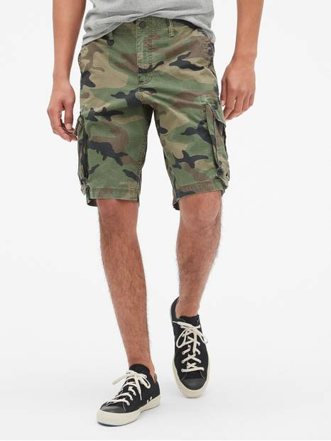 "11"" Twill Cargo Shorts with GapFlex"