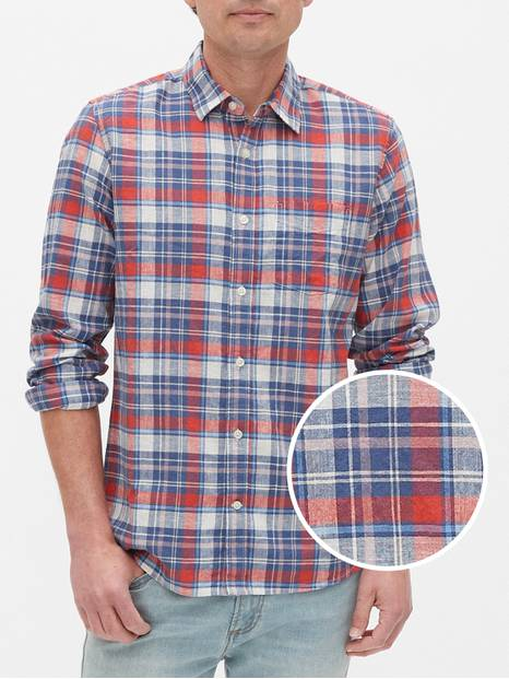 Long Sleeve Linen Shirt