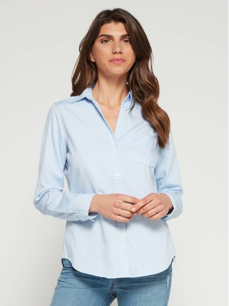 Fitted Boyfriend Shirt