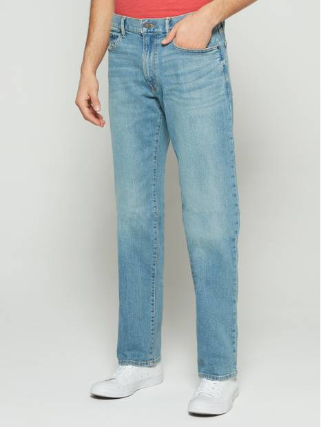 Straight Fit Jeans with GapFlex