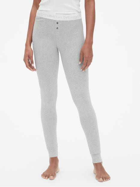 Logo Leggings in Modal