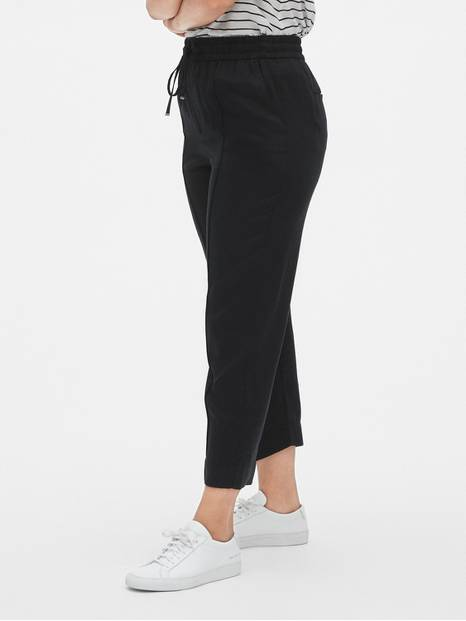 Pintuck Drawstring Pants in TENCEL&#153