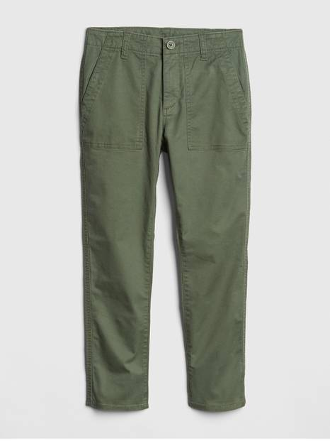 Kids Athletic Fit Utility Pants