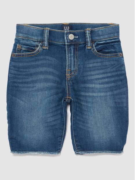 Kids Denim Bermuda Shorts