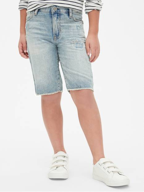 Kids Five-Pocket Denim Shorts