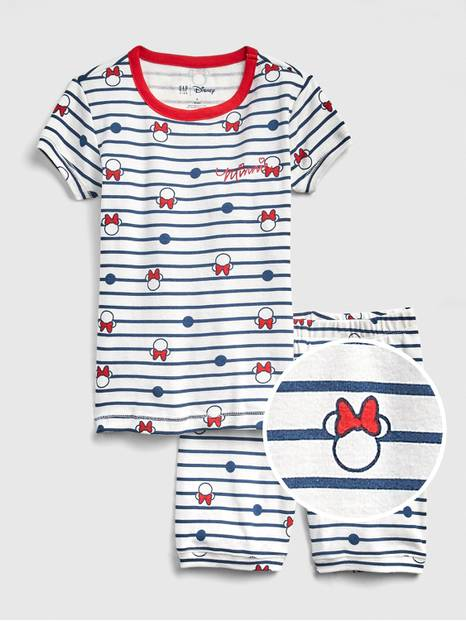 GapKids &#124 Disney Minnie Mouse Short PJ Set