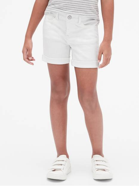 Kids Midi Shorts in Stain-Resistant