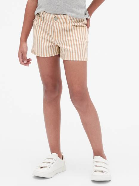 Kids Stripe Shortie Shorts