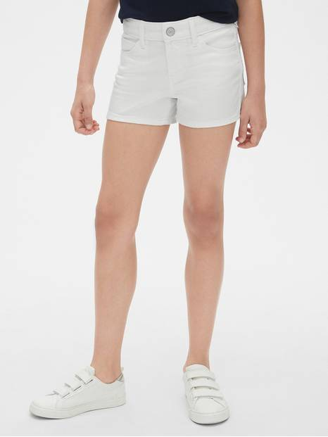 Kids Stain-Resistant Shortie Shorts