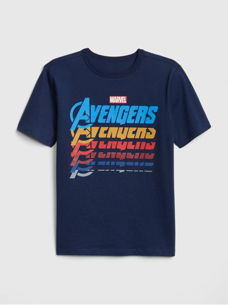 GapKids&#124 Marvel&#169 Graphic Short Sleeve T-Shirt