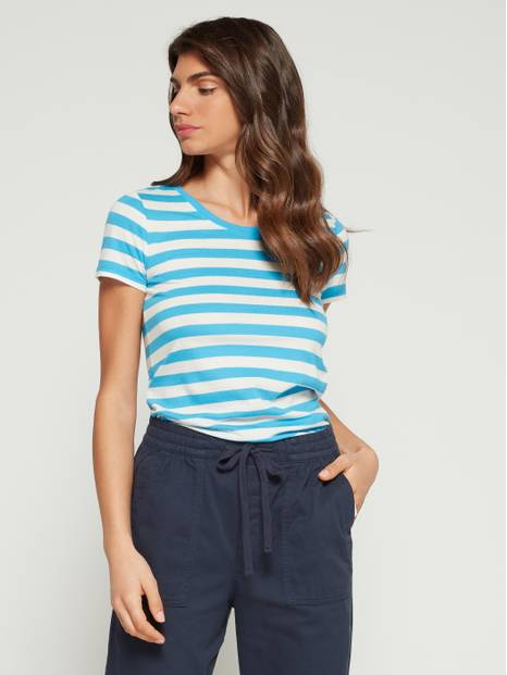 Favorite Stripe Crewneck T-Shirt