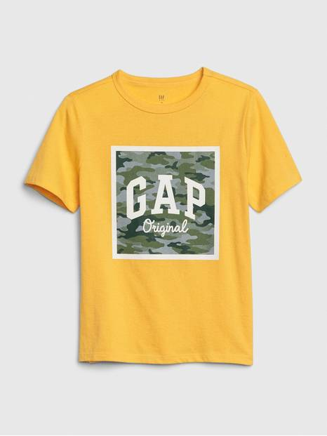 Kids Gap Logo Short Sleeve T-Shirt