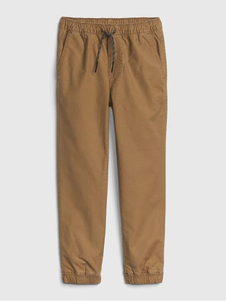 Kids Stretch Khaki Joggers
