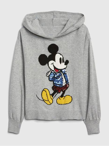GapKids &#124 Disney Mickey Mouse Hoodie Sweater