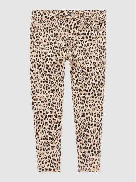 Kids Leopard Jeggings