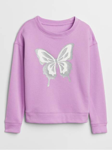 Kids Embellished Graphic Sweatshirt
