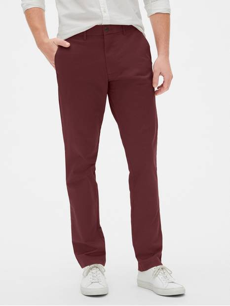 Modern Khakis in Slim Fit with GapFlex