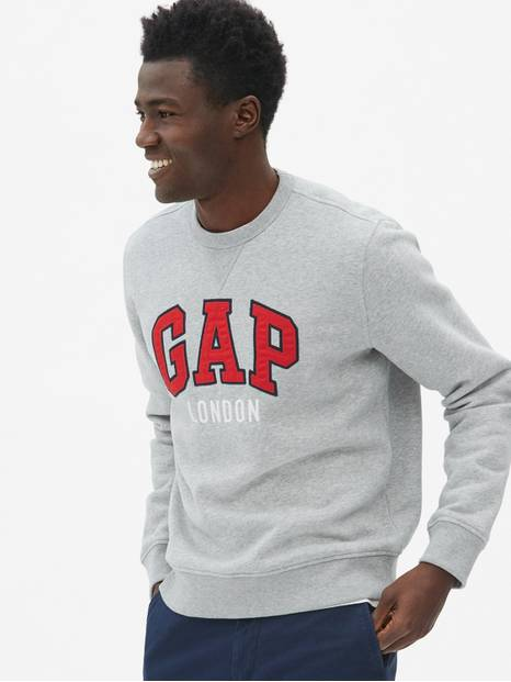 Gap Logo London Crewneck Sweatshirt