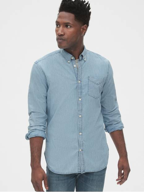 Denim Shirt in Slim Fit