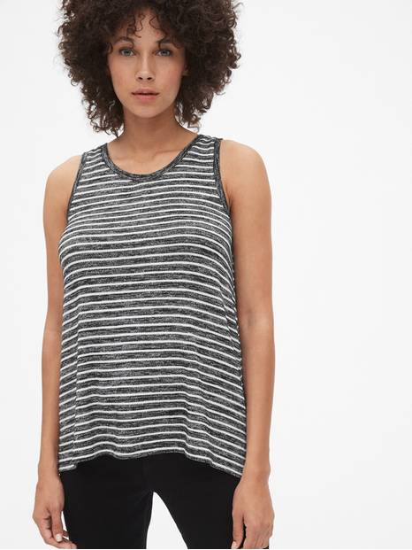 Softspun Stripe Swing Tank Top