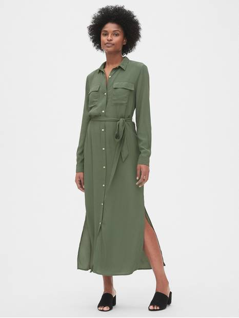 Perfect Maxi Shirtdress