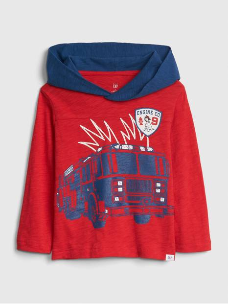 Toddler Graphic Hoodie T-Shirt