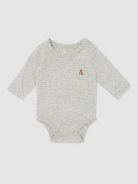Baby Brannan Bear Long Sleeve Bodysuit