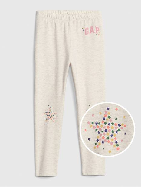 Toddler Gap Logo Leggings in Stretch Jersey