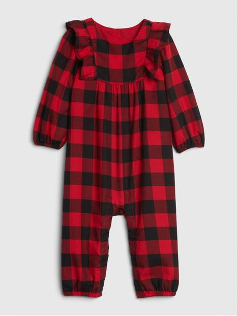 Baby Buffalo Plaid One-Piece