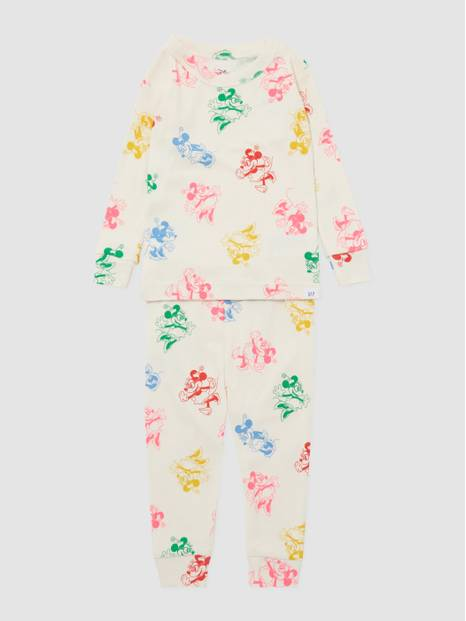Bay Gap Disney Printed Long John Pajamas