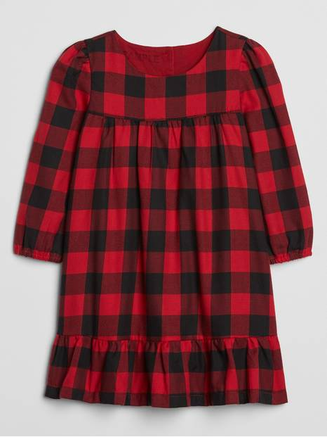 Toddler Plaid Dress