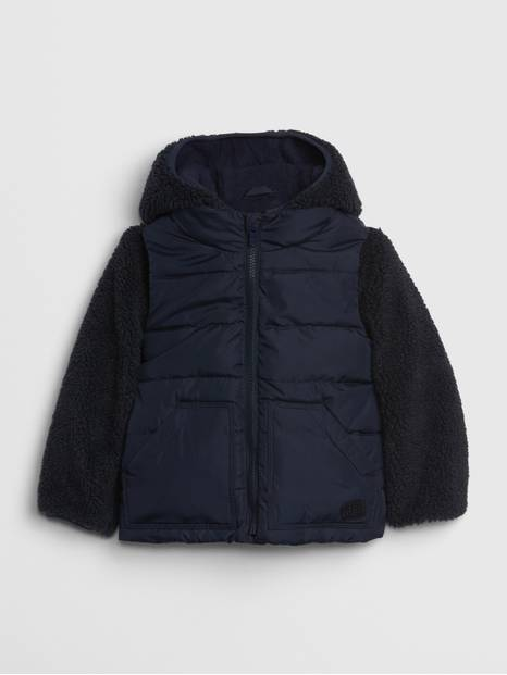 Toddler 3-in-1 Sherpa Jacket