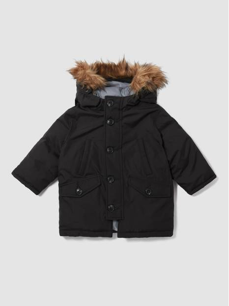 ToddlerGap Faux-Fur Warmest Snorkel Jacket
