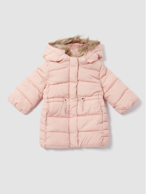 ToddlerGap Faux-Fur Trim Hood Warmest Jacket