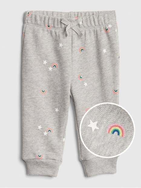 Baby Rainbow Pull-On Pants