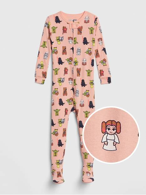 babyGap &#124 Star Wars&#153 PJ Footed One-Piece