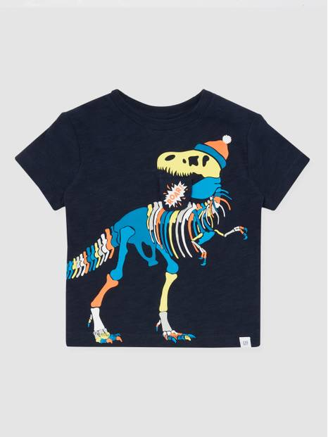 ToddlerGap Novelty Graphic Crewneck T-Shirt