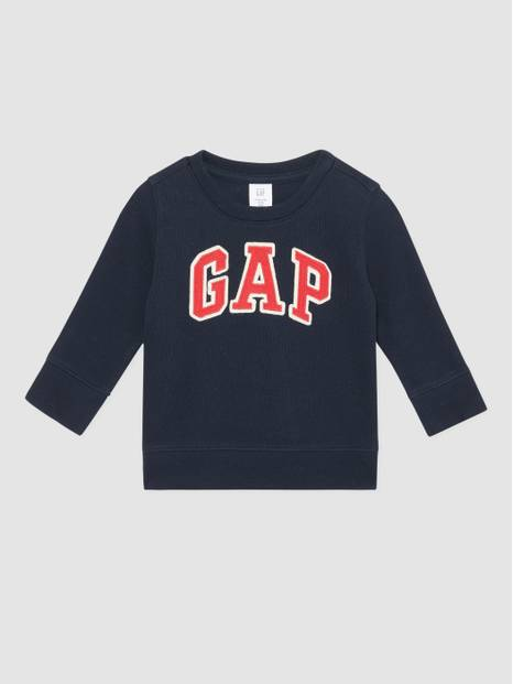 Toddler Gap Logo Appliqué Crewneck Sweater