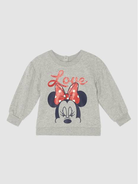 Baby Gap Balloon Sleeve  Graphic Sweatshirt